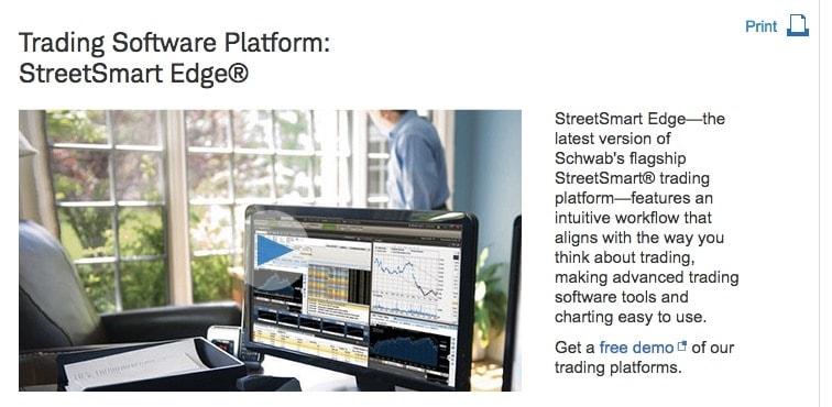 schwab platform