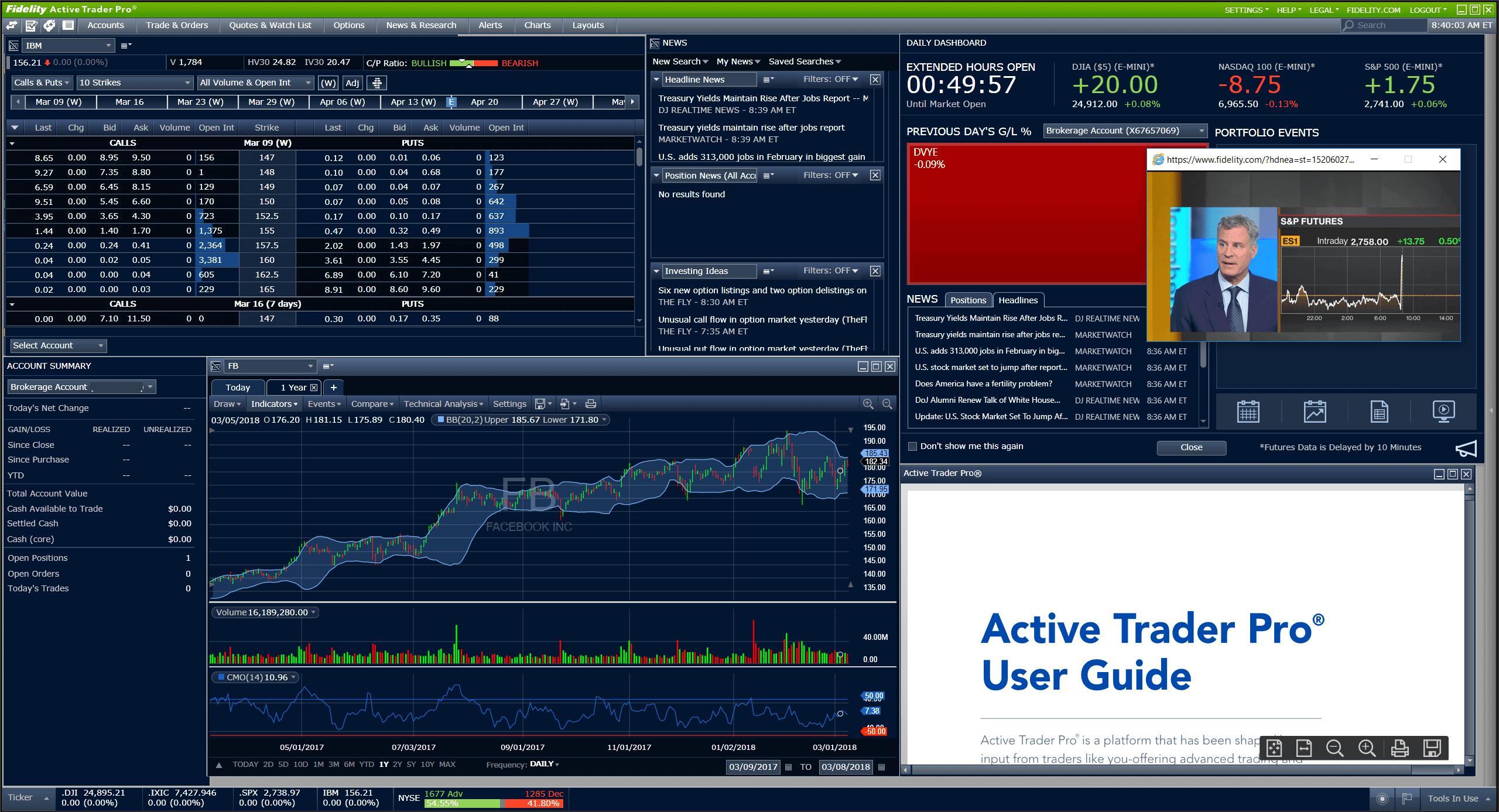 Fidelity Active Trader Pro
