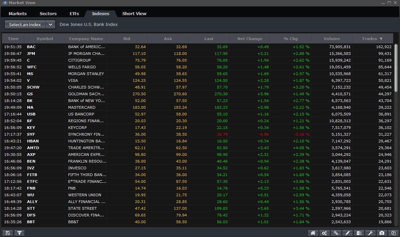 Market View Index