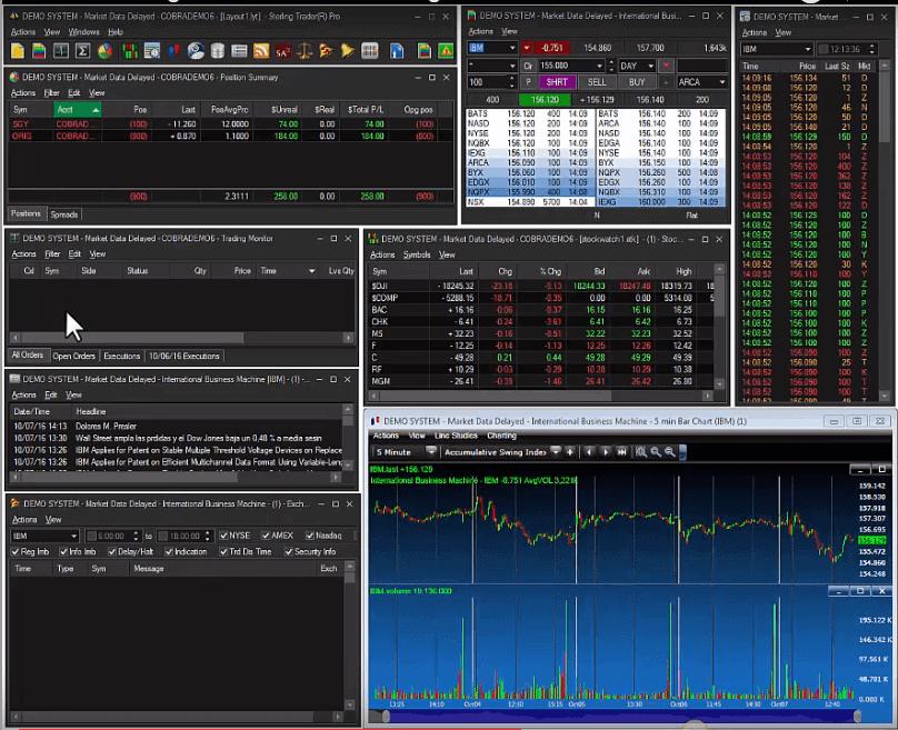 Cobra Trading Sterling Pro