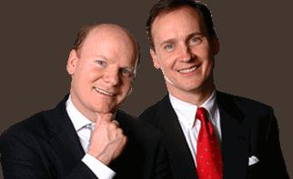 Tom and David Gardner