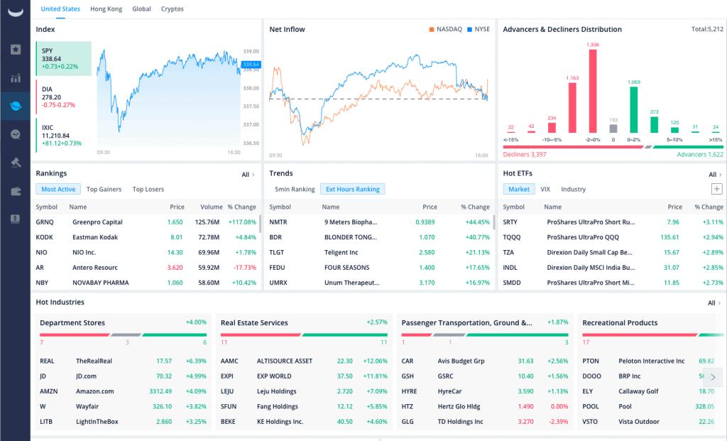 Webull Desktop Trading Platform