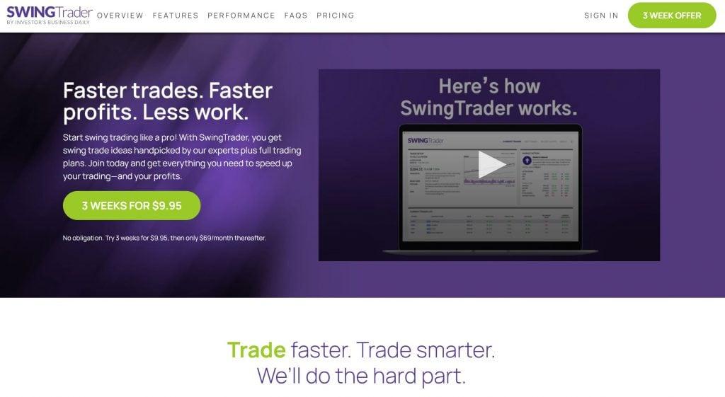 IBD Swing Trader Homepage