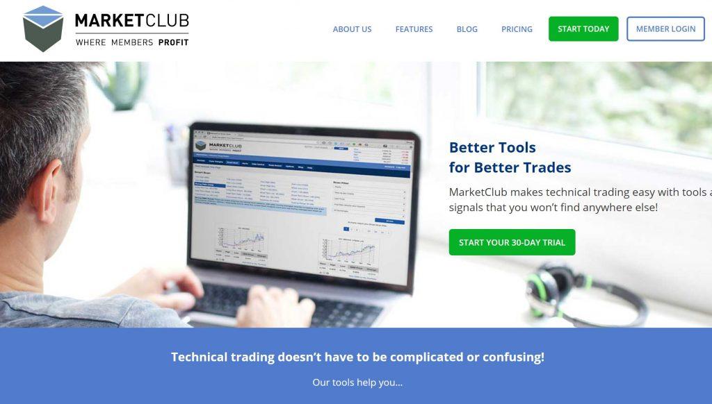 MarketClub Homepage